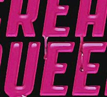 Scream Queens' logo. Sticker