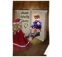 ✾◕‿◕✾BOOKS CAN HAVE A HAPPY ENDING KIDS PICTURE/CARD✾◕‿◕✾ Poster