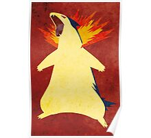 Typhlosion Poster