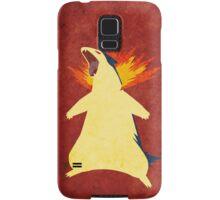 Typhlosion Samsung Galaxy Case/Skin