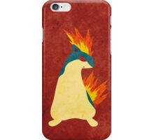 Quilava iPhone Case/Skin