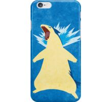 Blue Flame Typhlosion iPhone Case/Skin