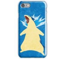 Blue Flame 157 iPhone Case/Skin
