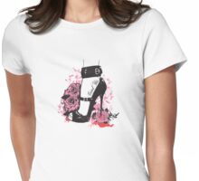 Stiletto Womens Fitted T-Shirt