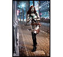 Cyberpunk Photography 042 Photographic Print