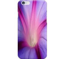 Lilac and Fuschia Morning Glory in Macro iPhone Case/Skin