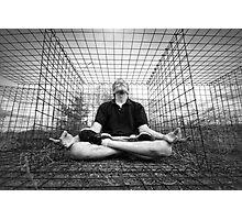 Zen in a Cage Photographic Print