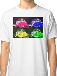 Volkswagen Camper Multi colors illustration Classic T-Shirt