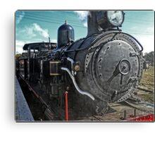 Steam locomotive in Canberra Canvas Print