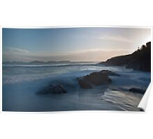 Wilsons Prom - Squeaky Beach at Sunset Poster
