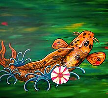The Crocodile Koi by HiddenCityArt