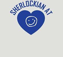 SHERLOCK FAN SHERLOCKIAN AT HEART Womens Fitted T-Shirt