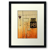 149 Wear Hard Hats Framed Print