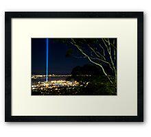 Spectra Tree - Hobart, Tasmania Framed Print