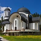 Church in Ski Resort Pamporovo by kirilart