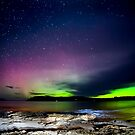 Saftey cove Tas - Aurora Australis  by Robert-Todd