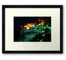 Old Part of Sozopol on Bulgarian Black sea Coast Framed Print