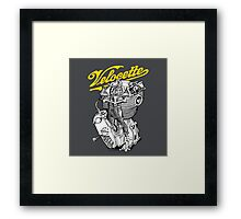 Classic British Motorcycle Engine - Velocette KTT350 Framed Print