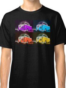 Volkswagen Camper Multi colors illustration 2 Classic T-Shirt