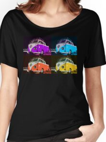 Volkswagen Camper Multi colors illustration 2 Women's Relaxed Fit T-Shirt