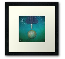 Dancing universe Framed Print