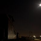 Super Moon and Caboose by Lisa Holmgreen