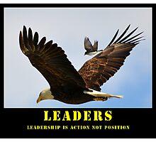 Leaders Motivation Photographic Print