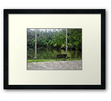 Borneo Rainforest Walk Framed Print