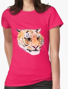 Tiger's Eyes Womens Fitted T-Shirt