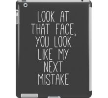 my next mistake iPad Case/Skin