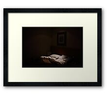 Sleep beckons Framed Print
