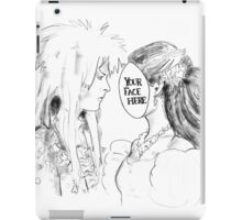 Your Face Here, Bowie iPad Case/Skin