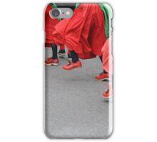 Morris dancer's feet iPhone Case/Skin