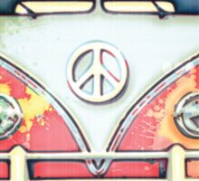 woodstock campervan Sticker