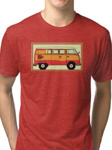 VW umbrella van Tri-blend T-Shirt