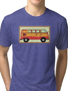VW umbrella van Tri-blend T-Shirt