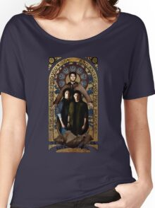 SUPERNATURAL gold medieval icon Women's Relaxed Fit T-Shirt