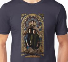 SUPERNATURAL gold medieval icon Unisex T-Shirt