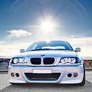 BMW E46 3 Series Portrait by AllshotsImaging