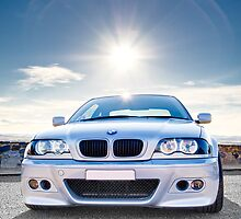 BMW E46 3 Series Portrait by AllshotsImaging
