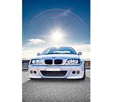 BMW E46 3 Series Portrait Photographic Print