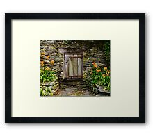 Gomez Mill House Door in the Wall Framed Print