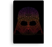 DarthNeonVader Canvas Print