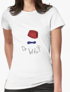 Doctor Who? Eleventh Doctor! Womens Fitted T-Shirt
