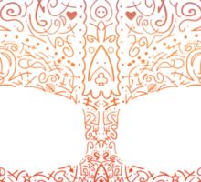 DarthNeonVader Sticker
