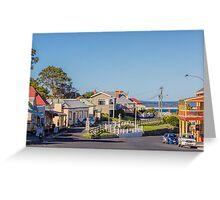 Stanley Townsite, Tasmania, Australia Greeting Card