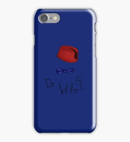 Doctor Who? Eleventh Doctor! iPhone Case/Skin