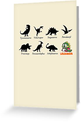 Educational Dinosaur Chart by jezkemp