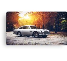 Aston Martin db6 Canvas Print