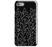 Three Little Birds (white line) iPhone Case/Skin